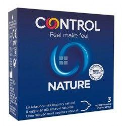 Control Preservativos Nature 3 uds