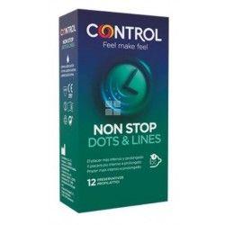 Control Preservativos Non Stop 12 uds