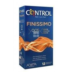 Control Preservativos Finissimo 12 uds