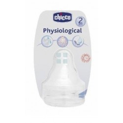 CHICCO WELL BEING TETINA SILICONA AJUSTABLE 2M + 2 UNIDADES