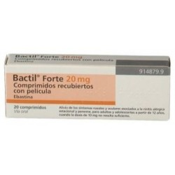 BACTIL FORTE 20 MG 20 COMPRIMIDOS RECUBIERTOS