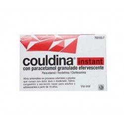 Couldina Instant con Paracetamol 650/4/10 mg 10 Sobres granulado Efervescente