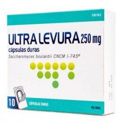 Ultra-Levura 250 mg 10 cápsulas (Blister)