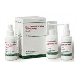 Minoxidil Viñas 50 mg/ml Solucion Cutanea 3 Frascos 60 ml