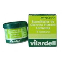 Supositorios Glicerina Vilardell Lactantes 0.92 gr 15 Supositorios