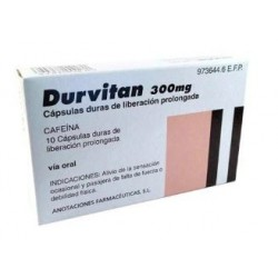 Durvitan 300 mg 10 cápsulas Liberacion Prolongada