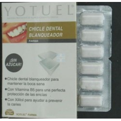 Yotuel Farma Chicle Dental Blanqueador 10 uds