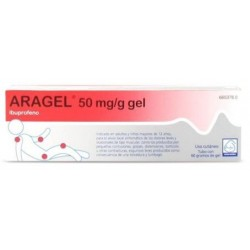 ARAGEL 50 MG/G GEL TOPICO 60 G