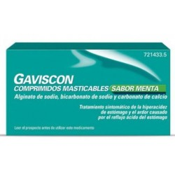 GAVISCON 24 COMPRIMIDOS MASTICABLES MENTA
