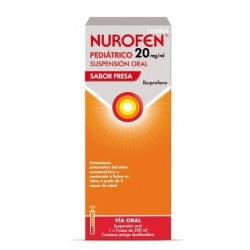 NUROFEN PEDIATRICO 20 MG/ML SUSPENSION ORAL 200 ML FRESA