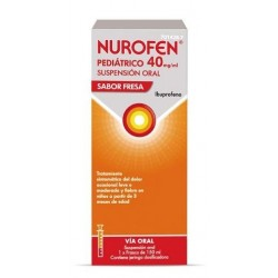 NUROFEN PEDIATRICO 40 MG/ML SUSPENSION ORAL 150 ML FRESA