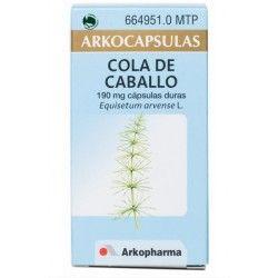 Cola de Caballo Arkopharma 190 mg 50 cápsulas