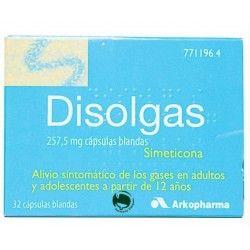 Disolgas 257.5 mg 32 cápsulas Blandas