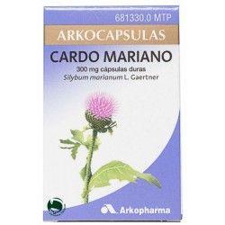 CARDO MARIANO ARKOPHARMA 300 MG 100 CAPSULAS