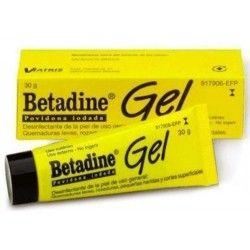 Betadine 100 mg/g Gel Topico 30 G