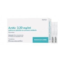 Artific 3.2 mg/ml Colirio 30 Monodosis Solucion 0.5 ml