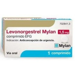 Levonorgestrel Mylan EFG 1.5 mg 1 Comprimido