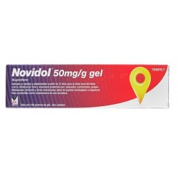 NOVIDOL 50 MG/G GEL TOPICO 1 TUBO 100 G
