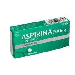 ASPIRINA 500 MG 20 COMPRIMIDOS