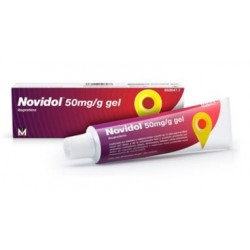NOVIDOL 50 MG/G GEL TOPICO 1 TUBO 60 G