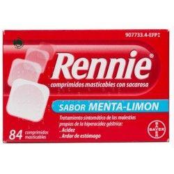 RENNIE 84 COMPRIMIDOS MASTICABLES C/ SACAROSA
