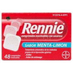 RENNIE 48 COMPRIMIDOS MASTICABLES C/ SACAROSA