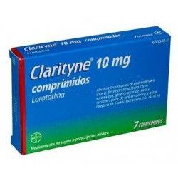 CLARITYNE 10 MG 7 COMPRIMIDOS
