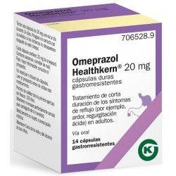 OMEPRAZOL HEALTHKERN 20 MG 14 CAPSULAS GASTRORRESISTENTES (FRASCO)