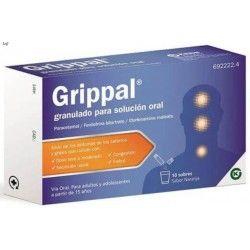 GRIPPAL 10 SOBRES GRANULADO SOLUCION ORAL