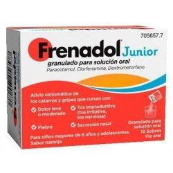 FRENADOL JUNIOR 10 SOBRES GRANULADO SOLUCION ORAL