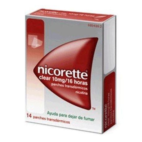 Nicorette Clear 10 mg/16 H 14 Parches Transdermicos 15.75 mg