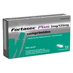 FORTASEC PLUS 2/125 MG 12 COMPRIMIDOS
