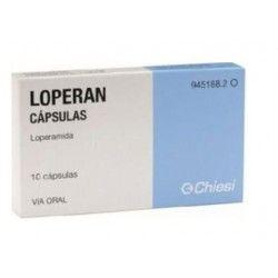 Loperan 2 mg 10 cápsulas