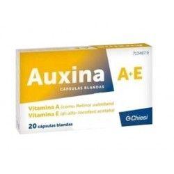 Auxina A+E 20 cápsulas