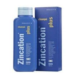 ZINCATION PLUS 10 MG/ML + 4 MG/ML CHAMPU MEDICINAL 500 ML