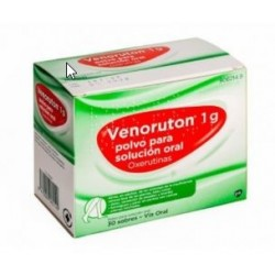 VENORUTON 1 G 30 SOBRES POLVO SOLUCION ORAL