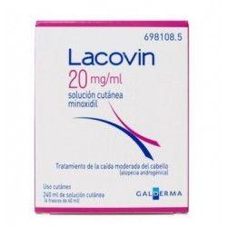 LACOVIN 20 MG/ML SOLUCION CUTANEA 4 FRASCOS 60 ML