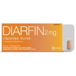 Diarfin 2 mg 10 cápsulas