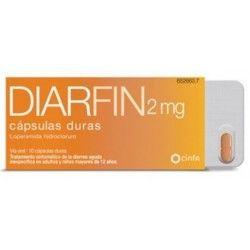 DIARFIN 2 MG 10 CAPSULAS