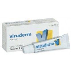 Viruderm 50 mg/g Pomada 1 Tubo 2 gr