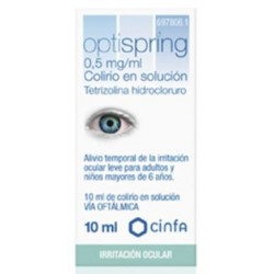OPTISPRING 0.5 MG/ML COLIRIO 1 FRASCO SOLUCION 10 ML