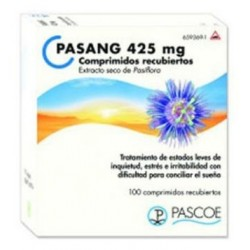 PASANG 425 MG 100 COMPRIMIDOS RECUBIERTOS