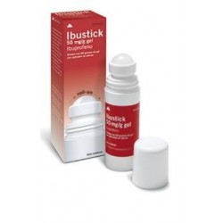IBUSTICK 50 MG/G GEL TOPICO ROLLON 60 G