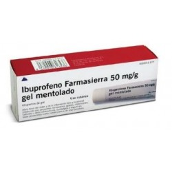 IBUPROFENO FARMASIERRA 50 MG/G GEL TOPICO 50 G
