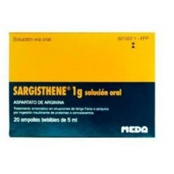 Sargisthene 1 gr 20 Ampollas Bebibles 5 ml