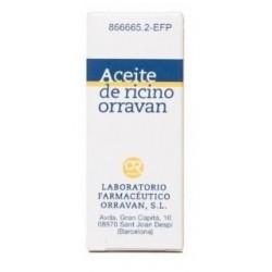ACEITE RICINO ORRAVAN 1 MG/ML SOLUCION ORAL 25 ML