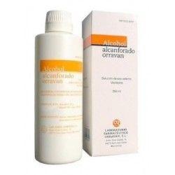 Alcohol Alcanforado Orravan 100 mg/ml Solucion Topica 250 ml