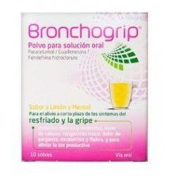 BRONCHOGRIP 10 SOBRES POLVO SOLUCION ORAL
