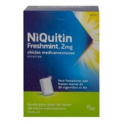 NIQUITIN FRESHMINT 2 MG 100 CHICLES