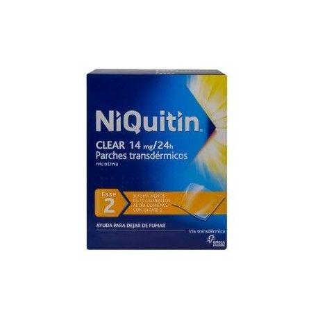 Niquitin Clear 14 mg/24 H 28 Parches Transdermicos 78 mg